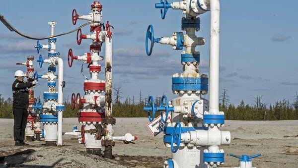 Yacimiento de gas ruso (imagen referencial) - Sputnik Mundo