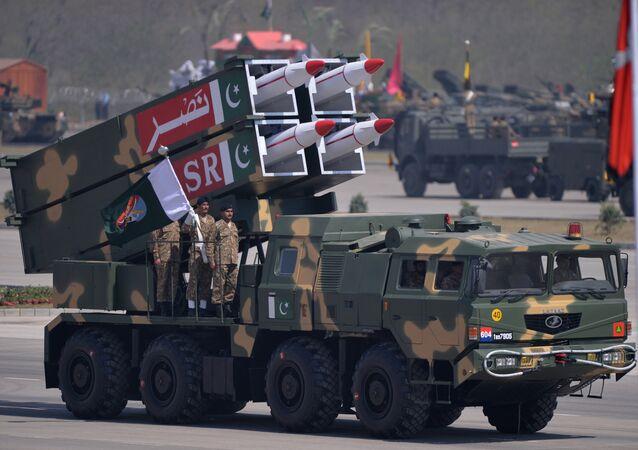 Sistema de misiles pakistaní NASR