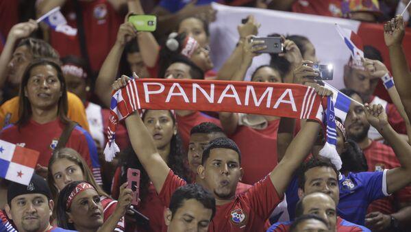 Hinchas de la selección de Panamá - Sputnik Mundo