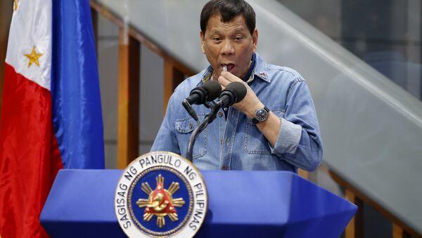 Rodrigo Duterte, presidente filipino - Sputnik Mundo