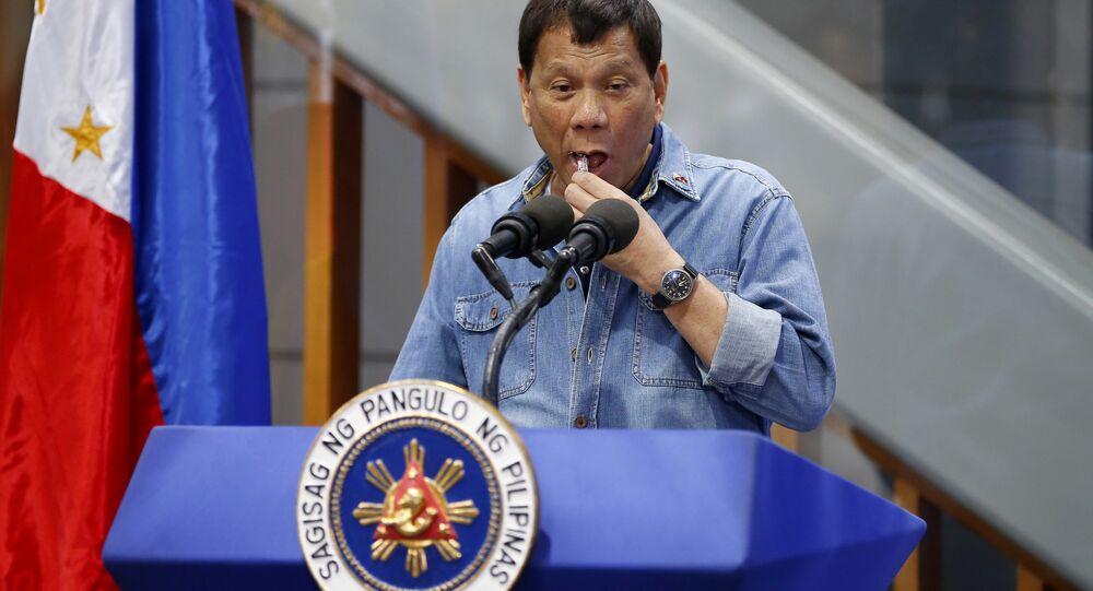 Rodrigo Duterte, presidente filipino