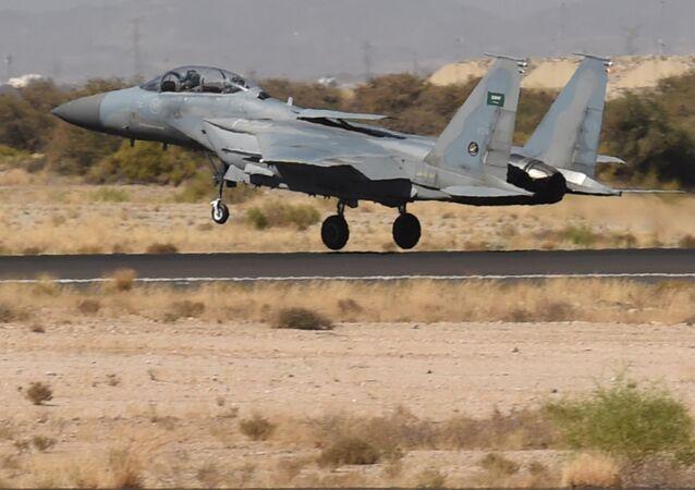 Un F-15 saudí