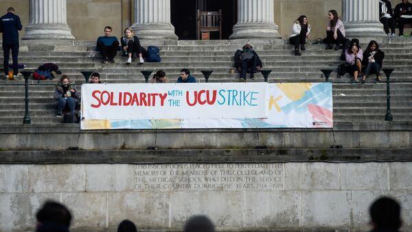 Huelga de profesores, Londres, Reinio Unido - Sputnik Mundo