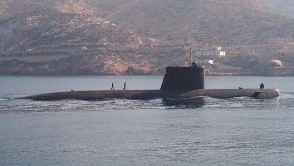 El submarino español Mistral - Sputnik Mundo