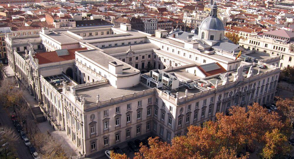 Tribunal Supremo de España en Madrid (archivo)