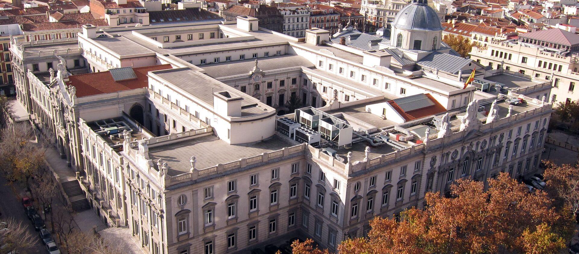 Tribunal Supremo de España en Madrid (vista aérea) - Sputnik Mundo, 1920, 14.10.2020