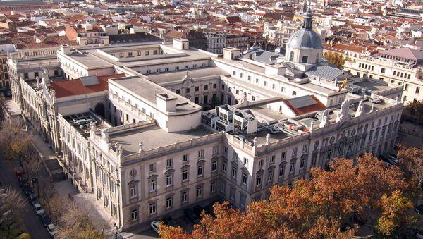 Tribunal Supremo de España en Madrid (vista aérea) - Sputnik Mundo