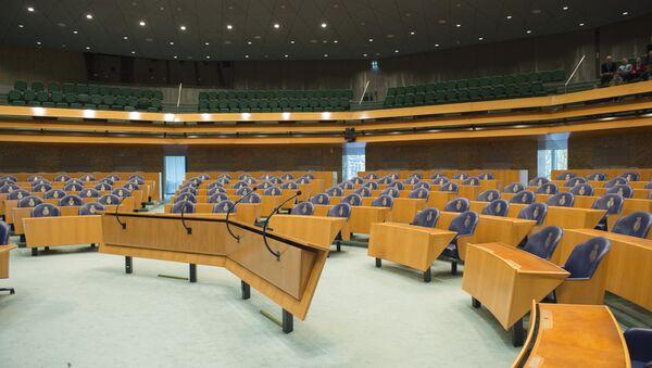Parlamento holandés, La Haya - Sputnik Mundo