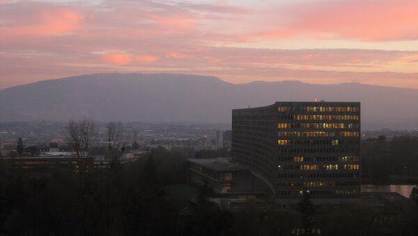 Sede de la Organización Internacional del Trabajo (OIT) en Ginebra, Suiza - Sputnik Mundo