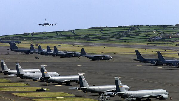 Base aérea estadounidense Lajes Field - Sputnik Mundo