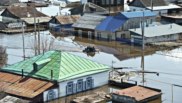 Alexei Majgavko, Rusia. La inundación de primavera - Sputnik Mundo