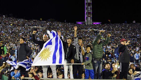 Los hinchas de Uruguay - Sputnik Mundo