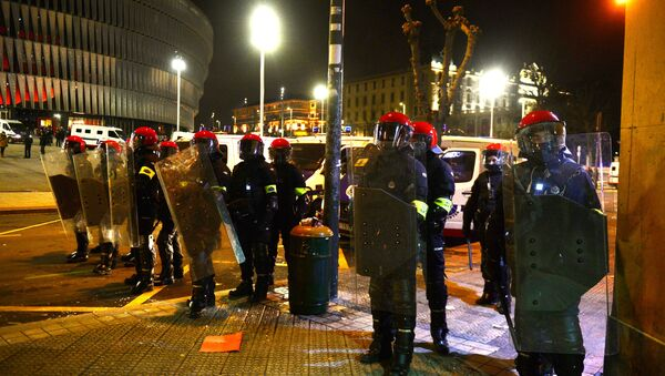 Ertzaintza, la policía nacional vasca - Sputnik Mundo