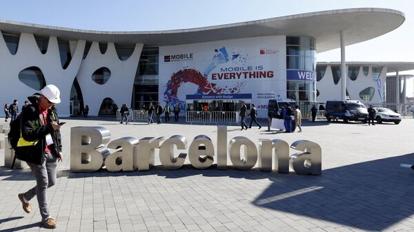 Mobile World Congress en Barcelona, España (archivo) - Sputnik Mundo