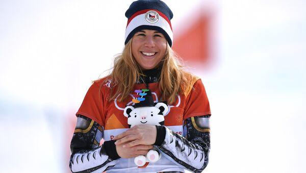 Ester Ledecka, deportista checa - Sputnik Mundo