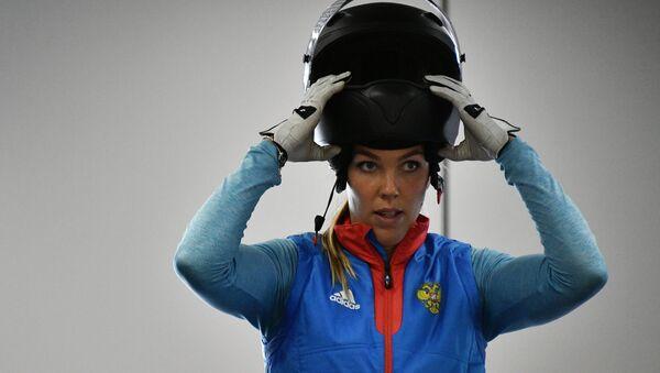 La atleta rusa de bobsleigh Nadezhda Sergeeva - Sputnik Mundo