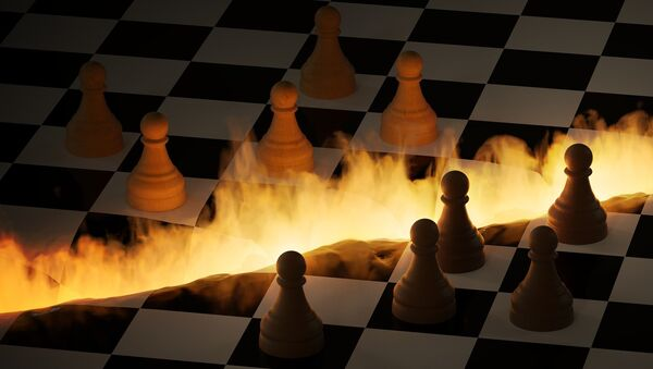 El tablero de ajedrez en fuego - Sputnik Mundo