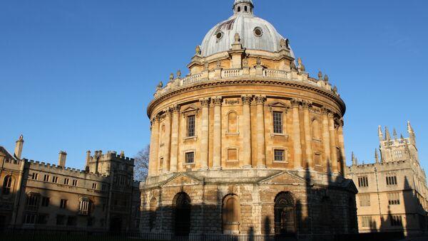 Cámara Radcliffe de la biblioteca Bodleiana de Oxford - Sputnik Mundo