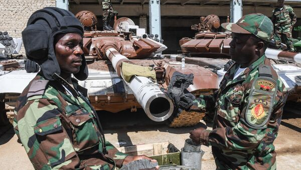 Los militares de Angola - Sputnik Mundo