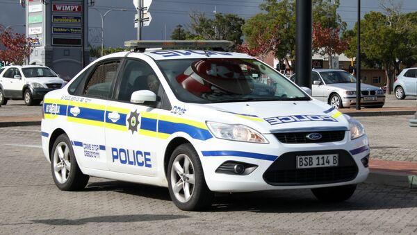 La policía de Sudáfrica (imagen referencial) - Sputnik Mundo