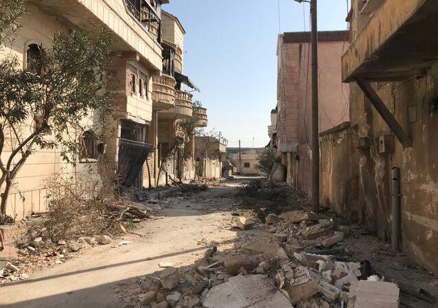 Situación en la ciudad siria de Afrín (archivo)
