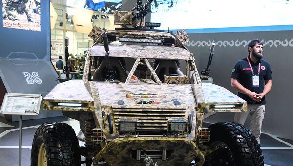 Buggy militar Chaborz M-6 de Chechenia - Sputnik Mundo