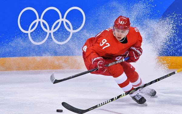 El delantero de la selección de Rusia Nikita Gúsev durante el partido con Alemania - Sputnik Mundo