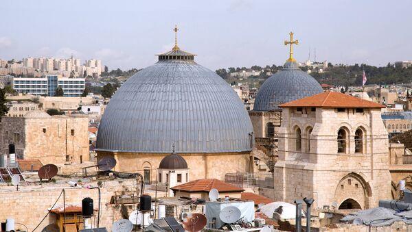 La Iglesia de Santo Sepulcro de Jerusalén - Sputnik Mundo