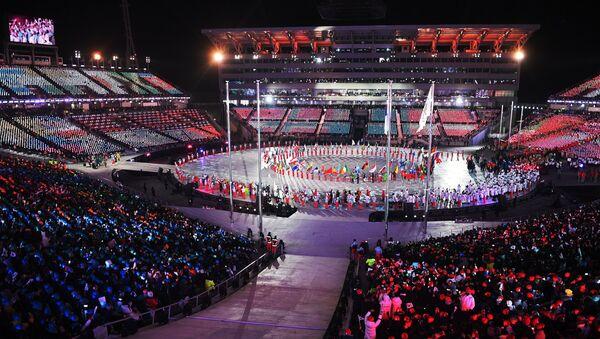 La ceremonia de clausura de los Juegos Olímpicos de Invierno de Pyeongchang - Sputnik Mundo