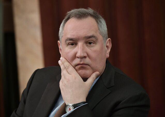 Dmitri Rogozin, vice primer ministro de Rusia