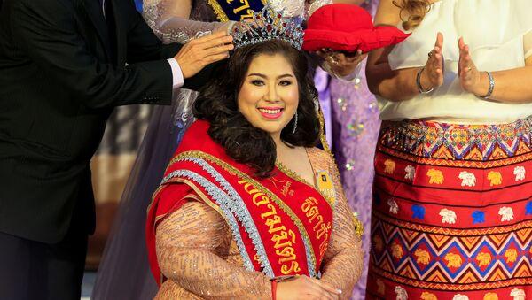 El extraordinario concurso Miss Jumbo: eligen a la mujer más bella de 'talla XL' - Sputnik Mundo