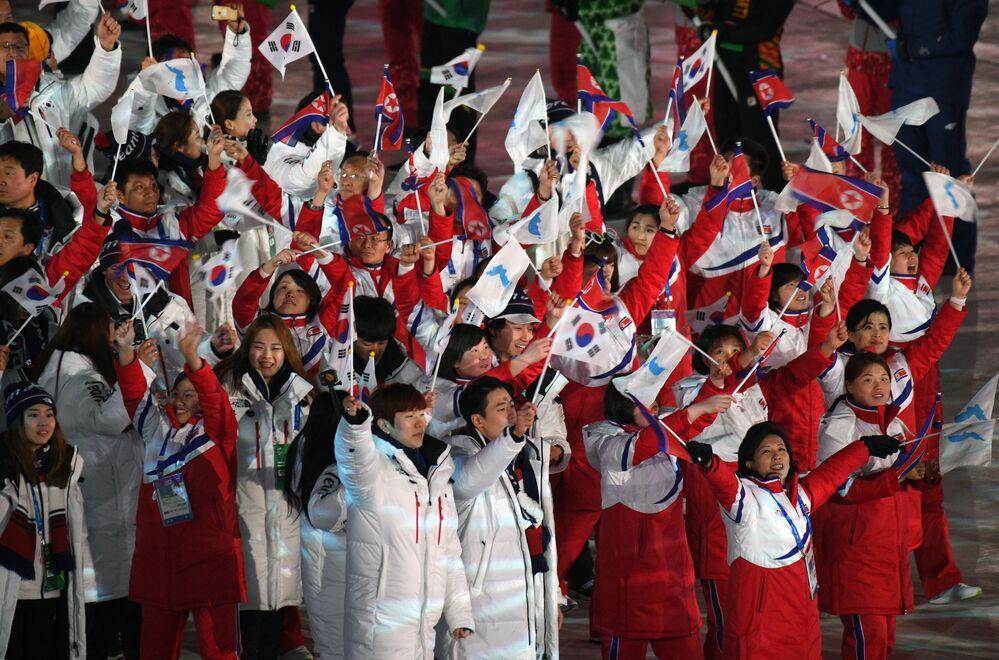 La impresionante ceremonia de clausura de los JJOO de Invierno de Pyeongchang