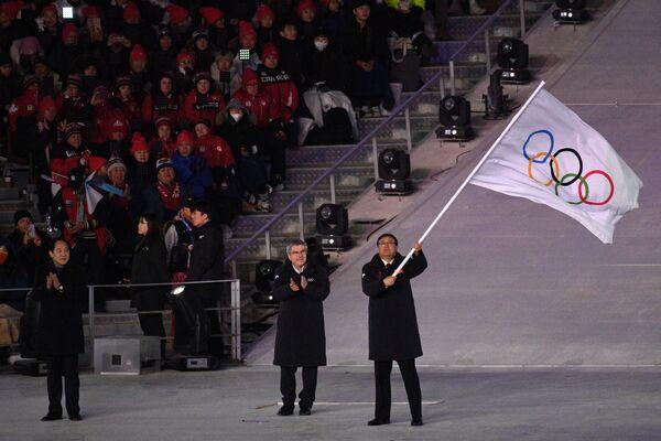 La impresionante ceremonia de clausura de los JJOO de Invierno de Pyeongchang - Sputnik Mundo