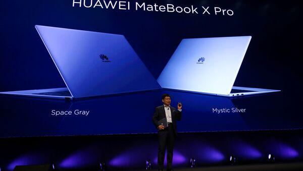 Huawei presenta el portátil MateBook X Pro - Sputnik Mundo