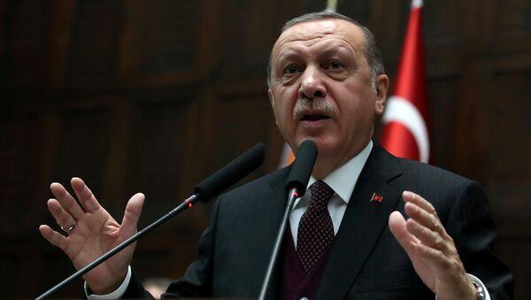 Recep Tayyip Erdogan, el presidente turco - Sputnik Mundo