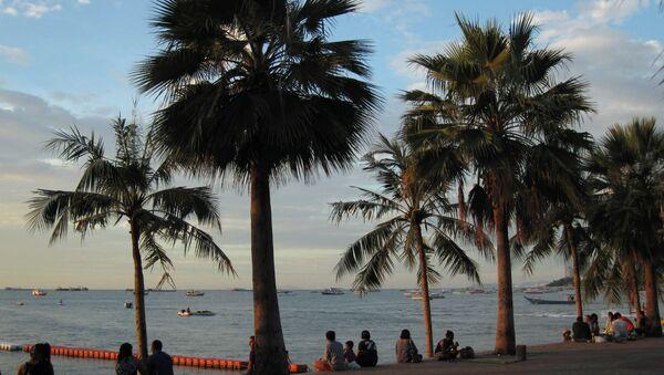 Turistas en Pattaya (imagen referencial) - Sputnik Mundo