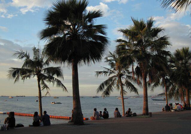Turistas en Pattaya (imagen referencial)