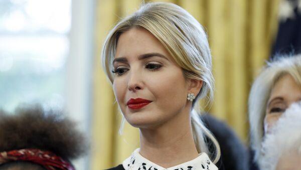 Ivanka Trump, hija y asesora del presidente de EEUU - Sputnik Mundo