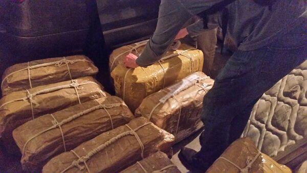 Cocaína encontrada en el edificio de la embajada rusa en Buenos Aires, Argentina - Sputnik Mundo