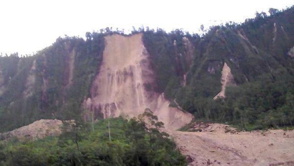 Consecuencias del terremoto en Papúa Nueva Guinea - Sputnik Mundo