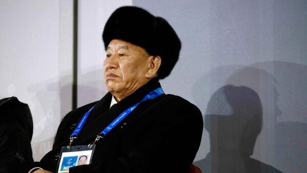 Kim Yong-chol, vicepresidente del Comité Central del Partido de los Trabajadores y jefe del Departamento del Frente Unido - Sputnik Mundo