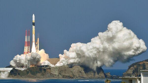 Lanzamiento del cohete H-IIA japonés - Sputnik Mundo