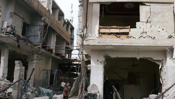 Situación en Guta Oriental, Damasco, Siria - Sputnik Mundo