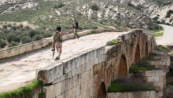 Combatientes del opositor Ejército Libre Sirio, apoyado por Turquía - Sputnik Mundo