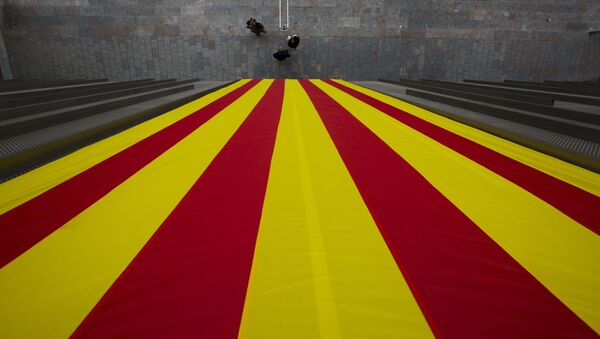 Bandera catalana - Sputnik Mundo