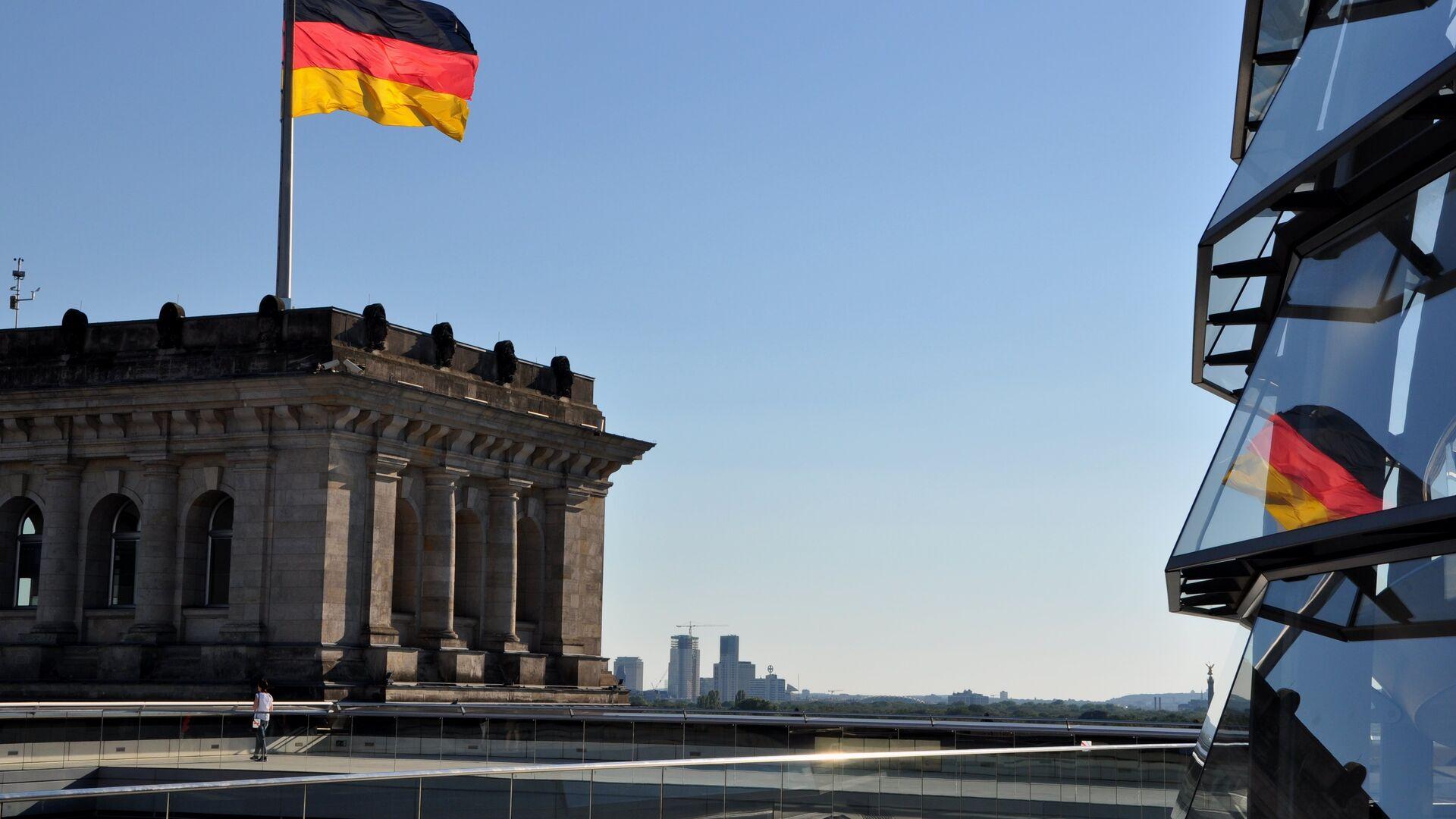 Bandera de Alemania en Berlín - Sputnik Mundo, 1920, 08.04.2021