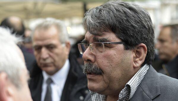 Saleh Muslim Muhammad, copresidente del kurdosirio Partido de la Unión Democrática (PYD) - Sputnik Mundo