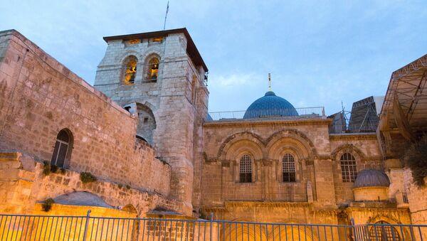 Iglesia del Santo Sepulcro de Jerusalén - Sputnik Mundo
