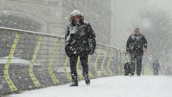 Ola de frío en el Reino Unido - Sputnik Mundo