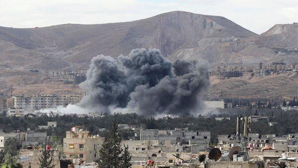 Situación en Guta Oriental, Siria - Sputnik Mundo